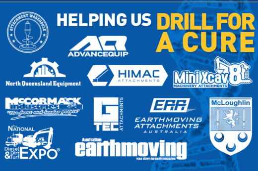 Help us drill for a cure