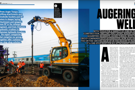 Take a look at Auger Torque's overview on Construction Machinery ME